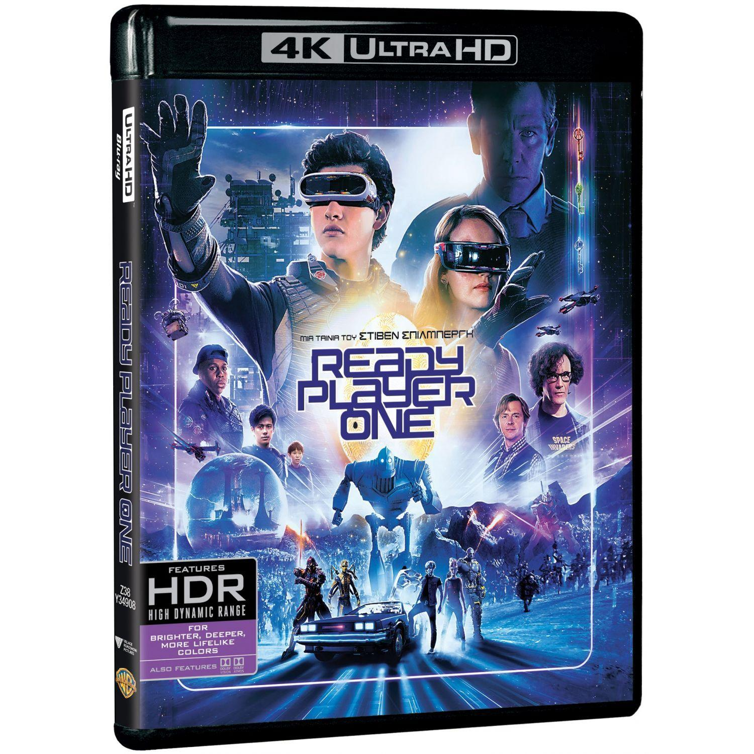 READY PLAYER ONE 2D 4K (BLU RAY)