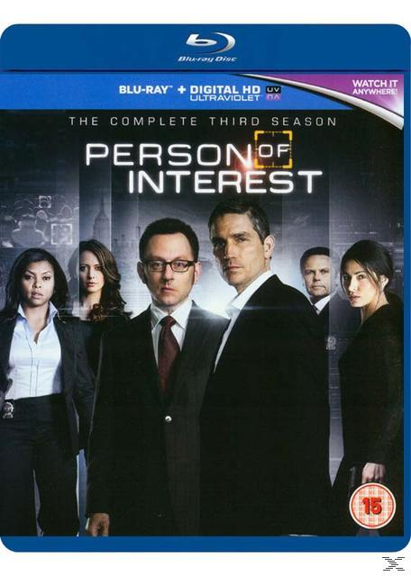 PERSON OF INTEREST  SEASON 3(BLU RAY)