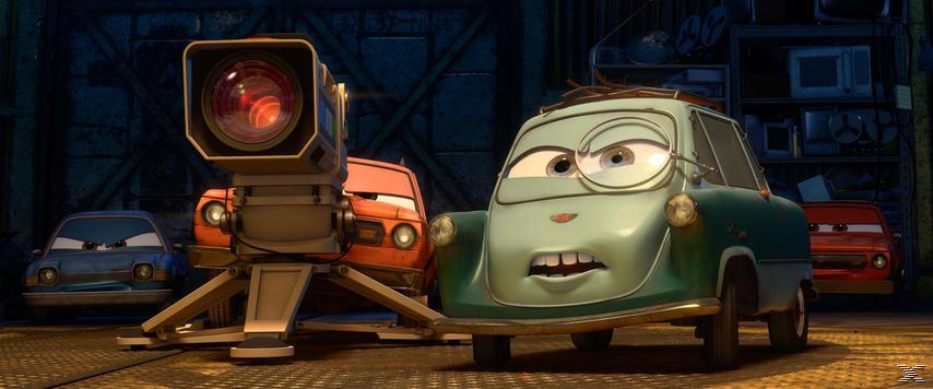 - Cars 2 DVD