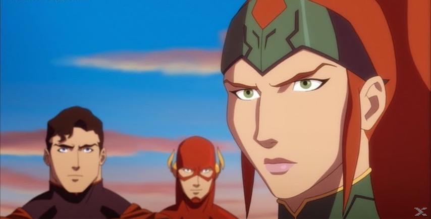 DCU Justice League: Throne Of Atlantis DVD