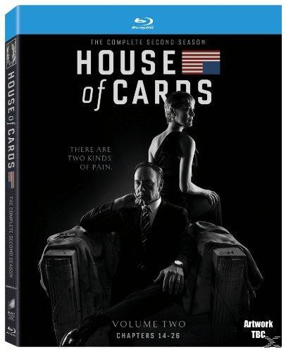 HOUSE OF CARDS SEASON 2 [BLU RAY]