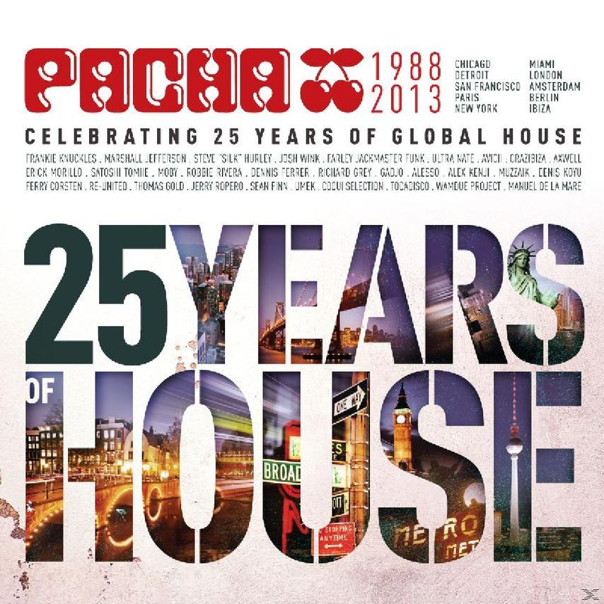 PACHA - 25 YEARS OF HOUSE (3CD)