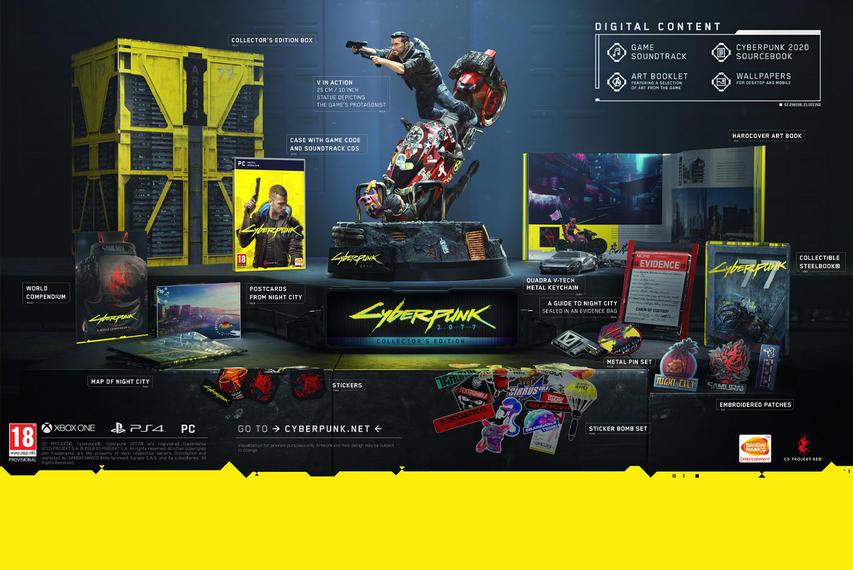 Cyberpunk 2077 Collector's Edition UK PC