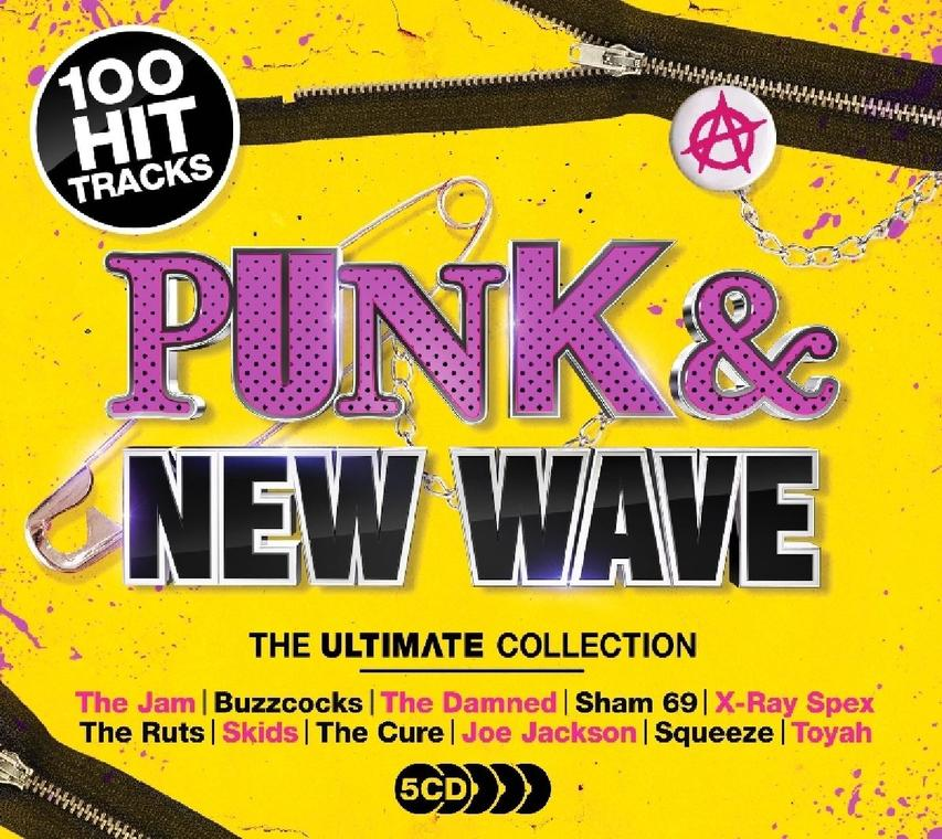 ULTIMATE PUNK & NEW WAVE (5CD)