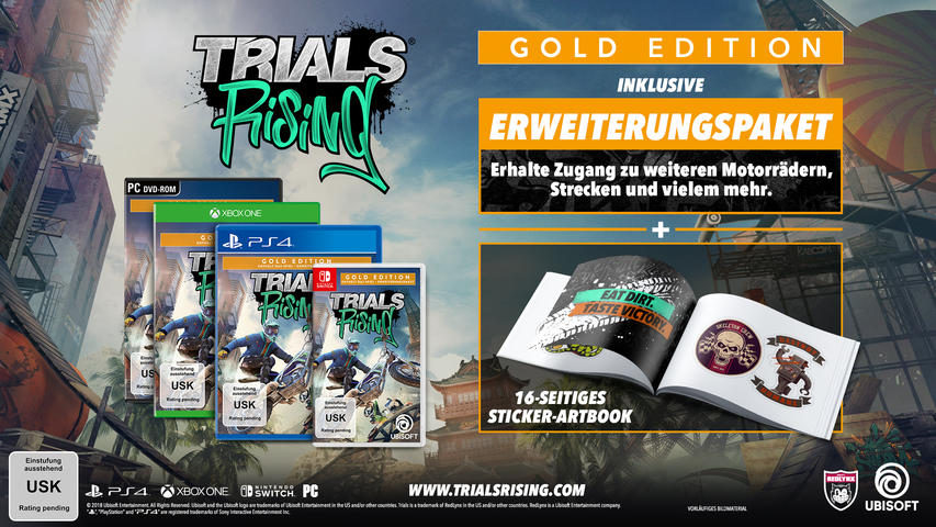 Trials Rising - Gold Edition - Nintendo Switch
