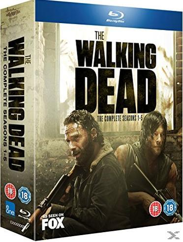 WALKING DEAD S1-5[BLU RAY]
