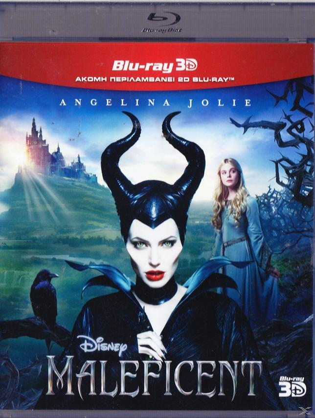 MALEFICENT 3D SUPER SET [+2D BLU RAY]