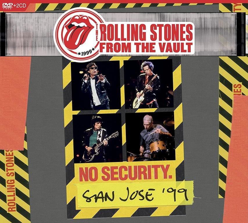 FROM THE VAULT: NO SECURITY (CD & DVD)