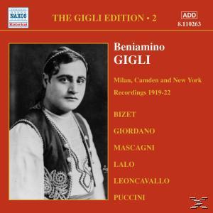 Gigli Edition 2: Milan, Camden And New York - Recordings 191