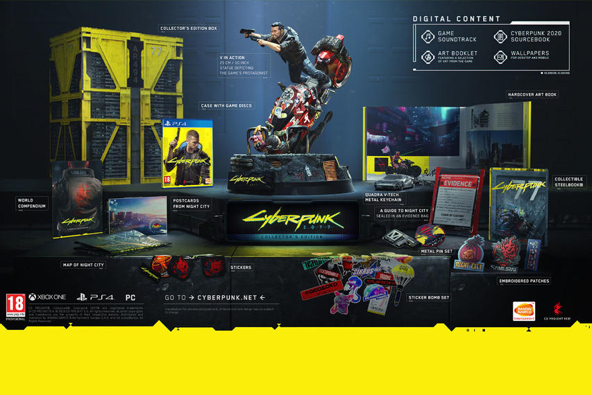 Cyberpunk 2077 Collectors Edition PlayStation 4
