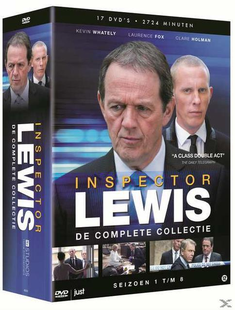 INSPECTOR LEWIS SEASONS 1-8 (DVD)