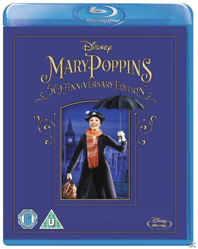 MARY POPPINS (50TH ANN.) [BLU RAY]