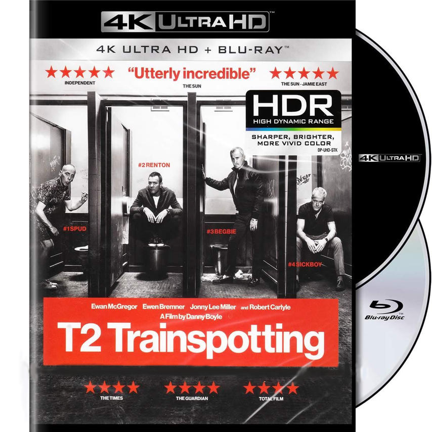 4K TRAINSPOTTING 2 [& BLU RAY]