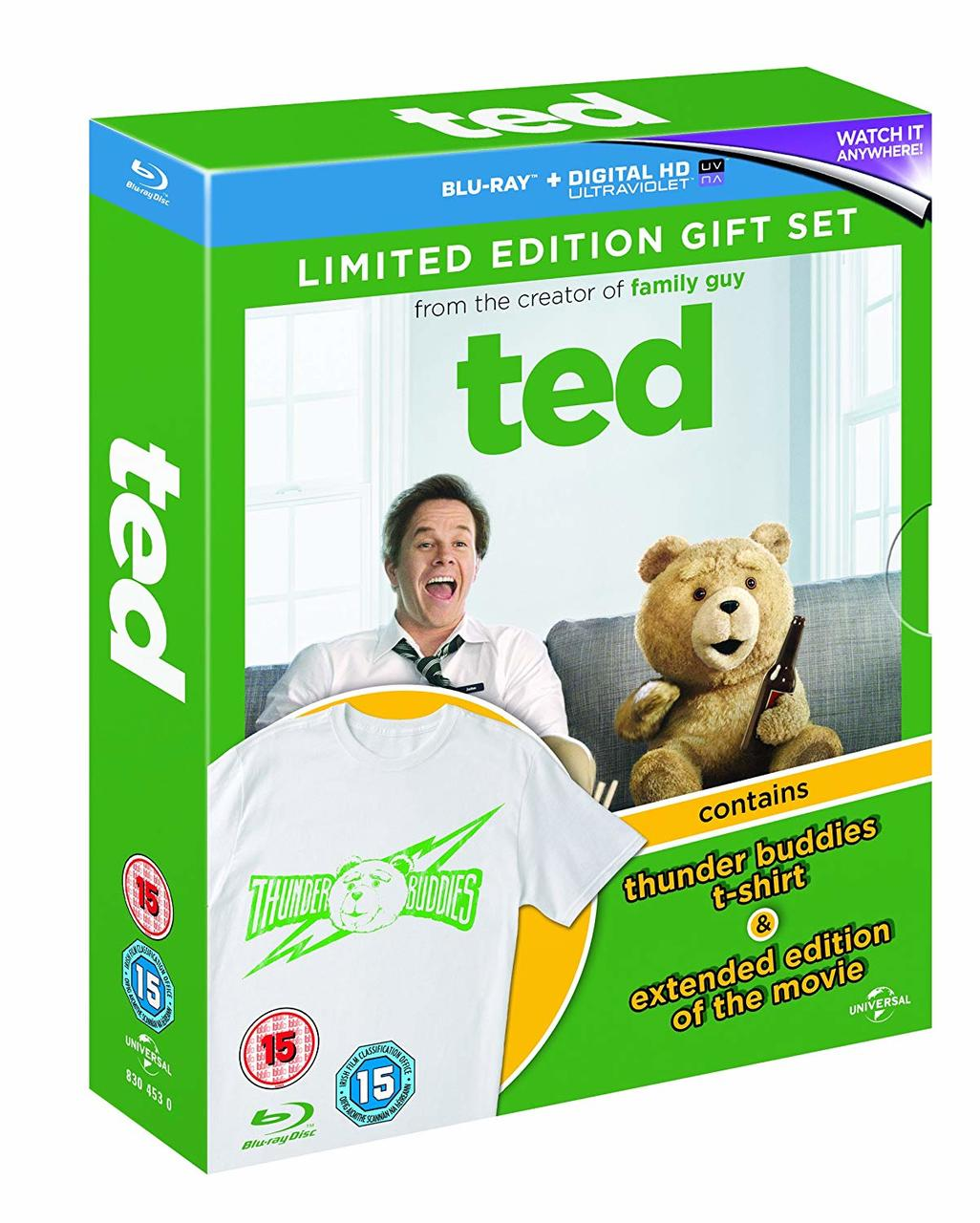 TED + TSHIRT 2015 (BLU RAY)