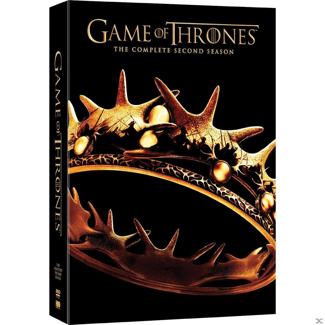 Game of Thrones - Season 2 DVD-Box