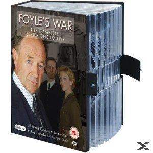 Foyle's War - The Complete Collection (Season 1-5) DVD-Box