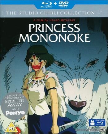 PRINCESS MONONOKE [BLU RAY+DVD]