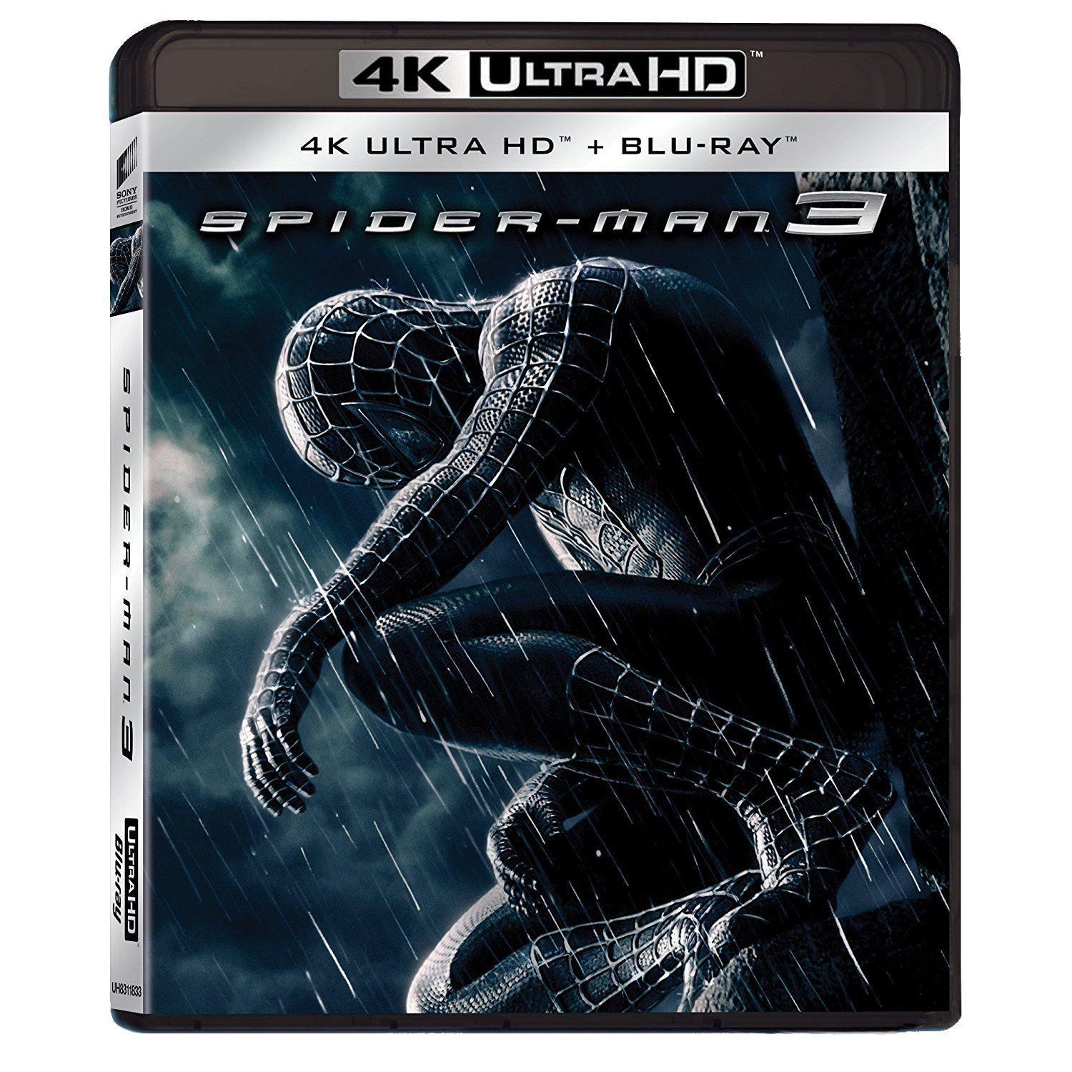 4K SPIDER-MAN 3 [&BLU RAY]