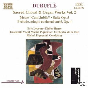 Duruflé: Sacred Choral & Organ Works, Vol. 2