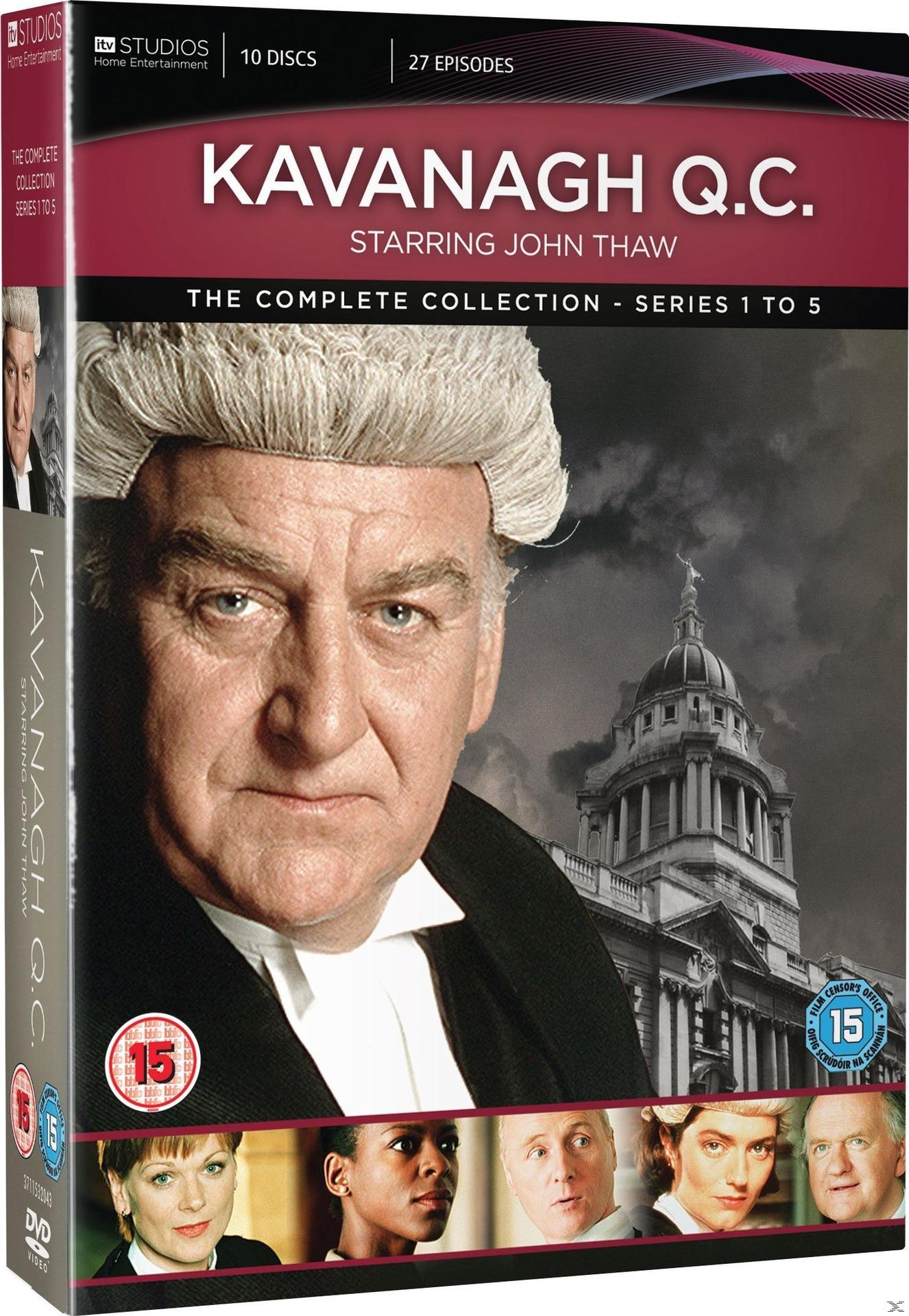 Kavanagh Q.C. - The Complete Collection DVD-Box