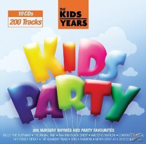 KIDS YEARS - KIDS PARTY (10CD)