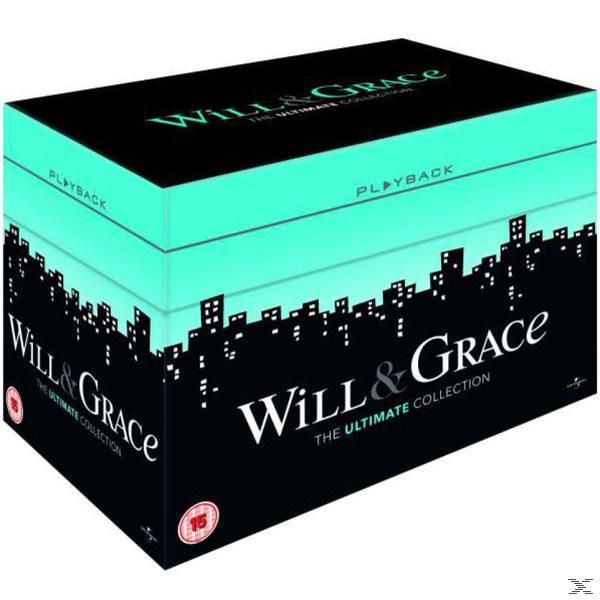 WILL & GRACE S1-8