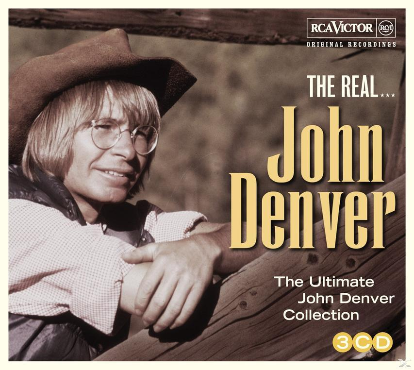 THE REAL... JOHN DENVER (3CD)