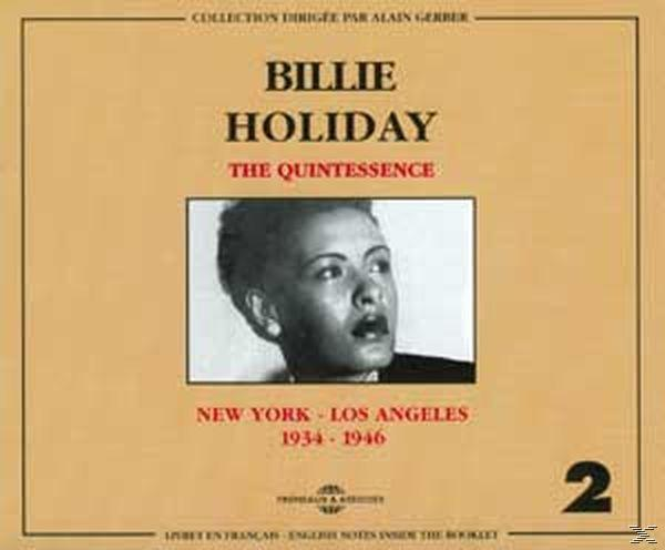 Quintessence: New York - Los Angeles, Vol. 2: 1934-1946