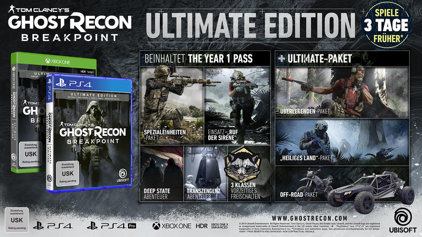 Tom Clancy's Ghost Recon: Breakpoint (Ultimate Edition) - Xbox One