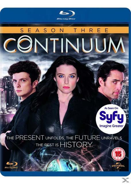 CONTINUUM SEASON 3 [BLU RAY]