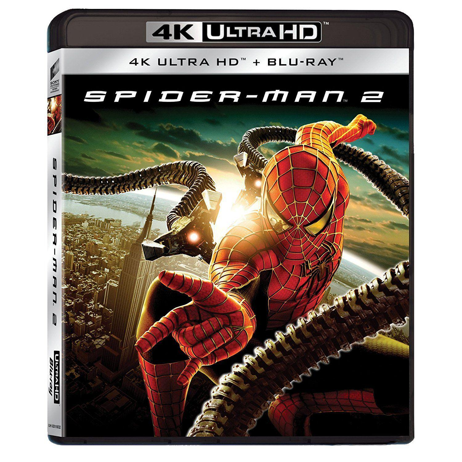 4K SPIDER-MAN 2 [&BLU RAY]