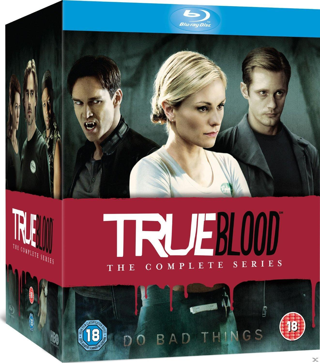 TRUE BLOOD S1-7[BLU RAY]