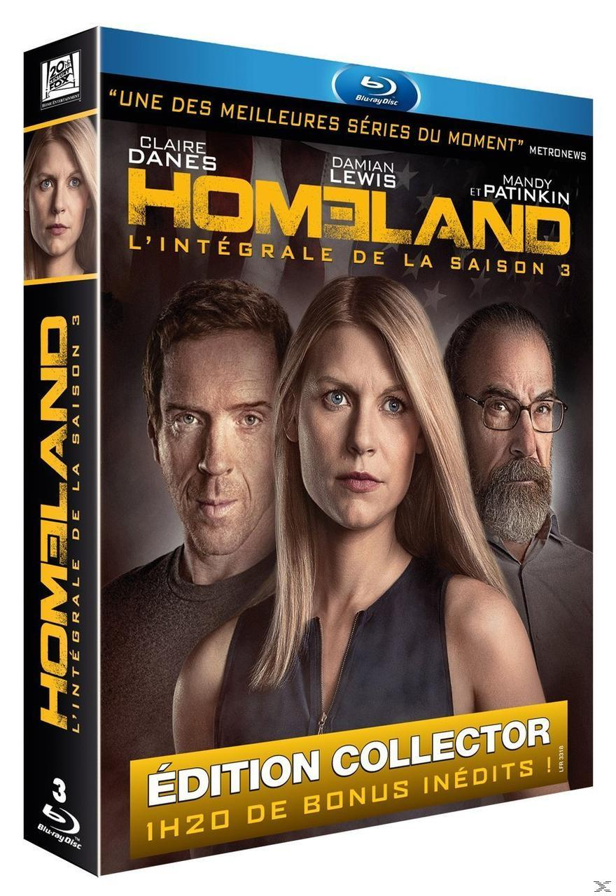 HOMELAND SEASON 3 [BLU RAY]