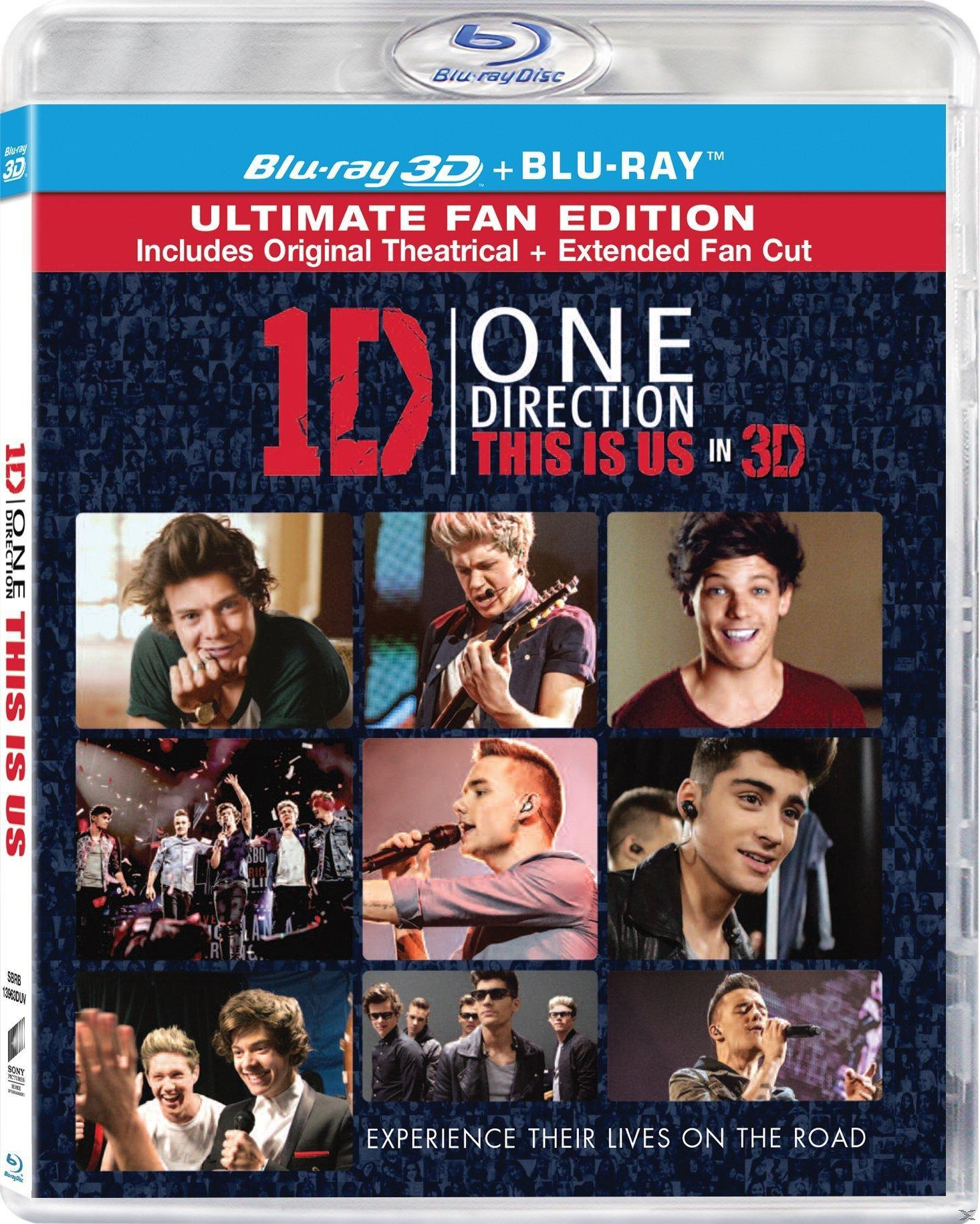 ONE DIRECTION: THIS IS US 3D [BLU RAY]