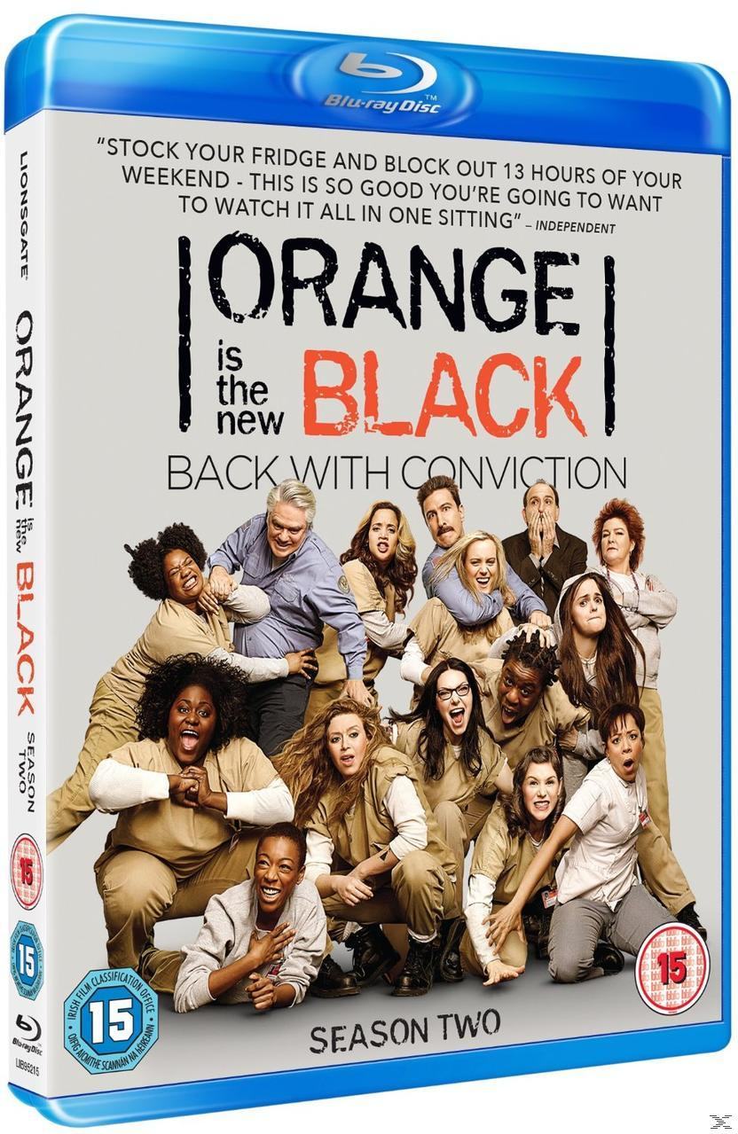 ORANGE IS THE NEW BLACK S.2 [BLU RAY]