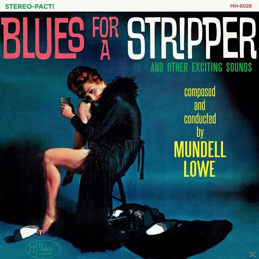 BLUES FOR A STRIPPER (LP CYAN)