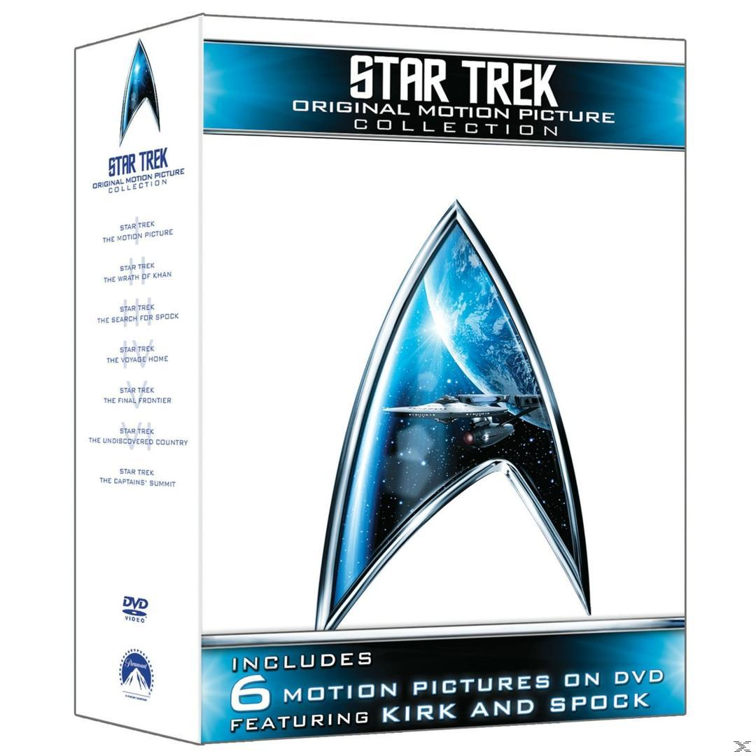 Star Trek: Original Motion Picture Collection 1-6 Bluray Box