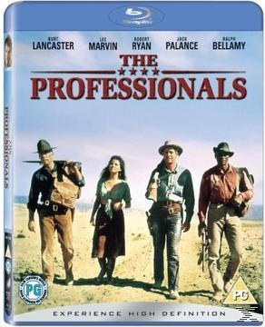 THE  PROFESSIONALS (BLURAY)