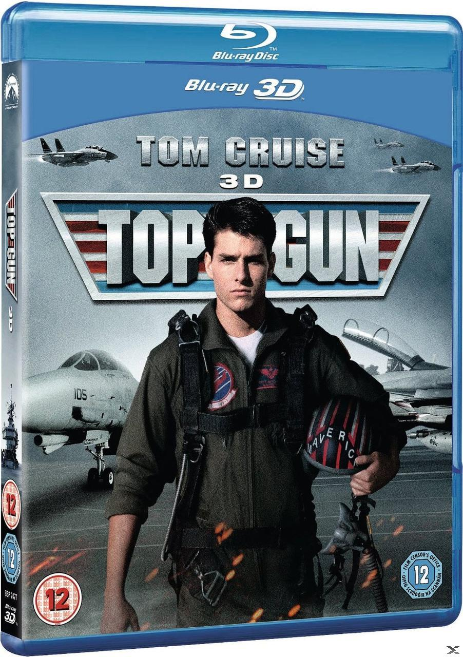 TOP GUN 3D [BLU RAY]