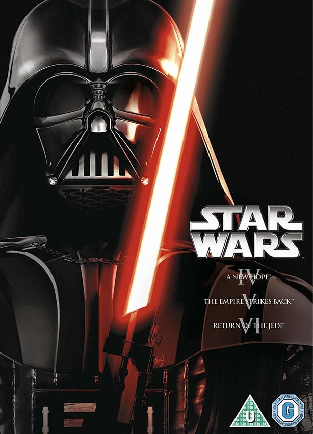 STAR WARS ORIGINALS TRILOGY IV, V & VI (