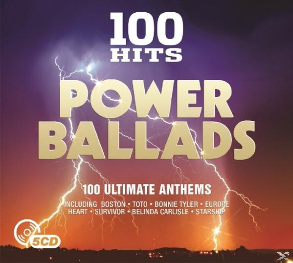 100 HITS: POWER BALLADS (5CD)