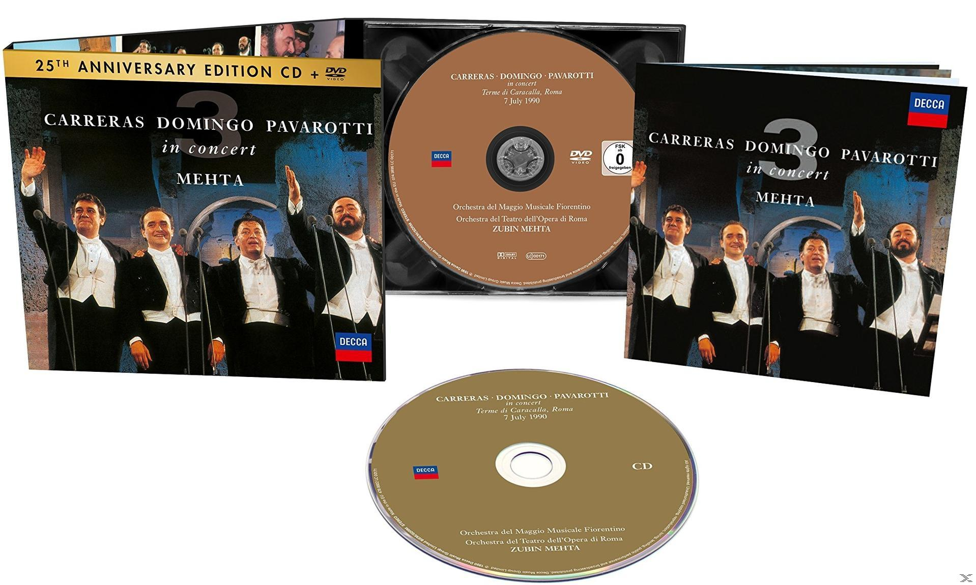 THE THREE TENORS 25TH ANNI. (CD+DVD)