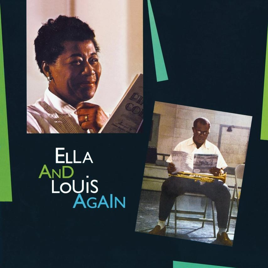 Ella And Louis Again-Limited 180 Gram Solid Gree