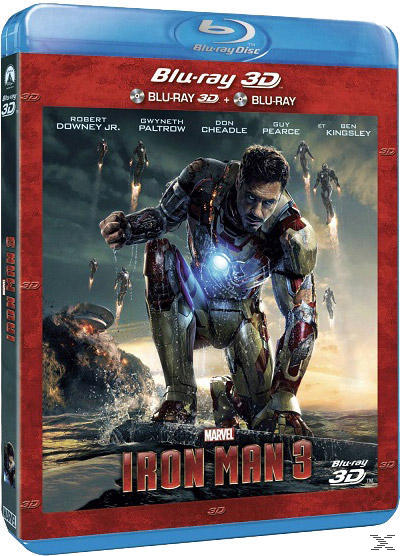 Iron Man 3 - 2 Disc Bluray