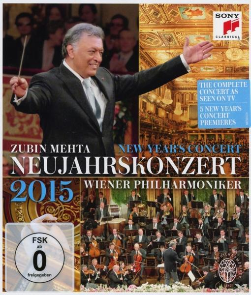 NEW YEAR'S CONCERT 2015 (BLU RAY)