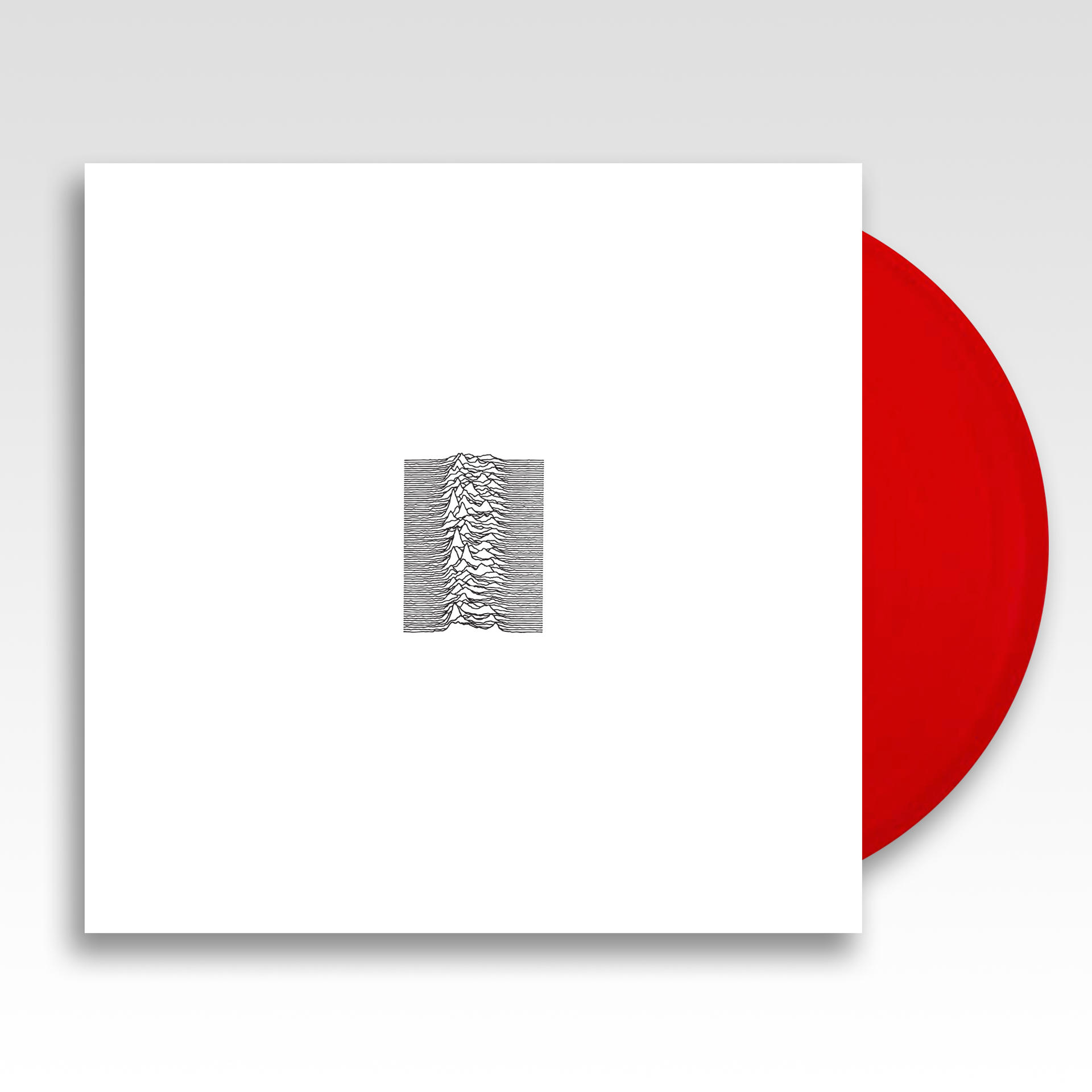 UNKNOWN PLEASURES (LP LIMITED RED)