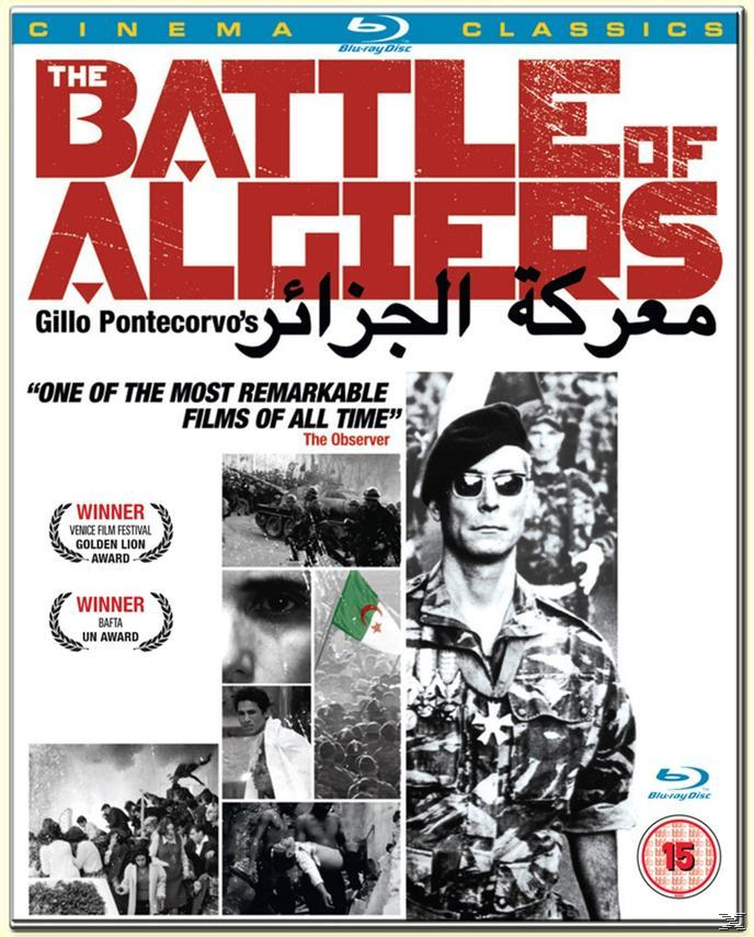 BATTLE OF ALGIERS [BLU RAY]