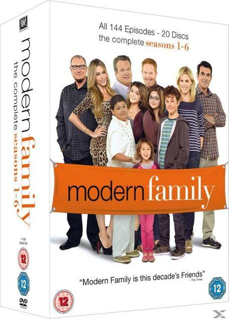 MODERN FAMILY SEASONS 1-6 (20DVD)