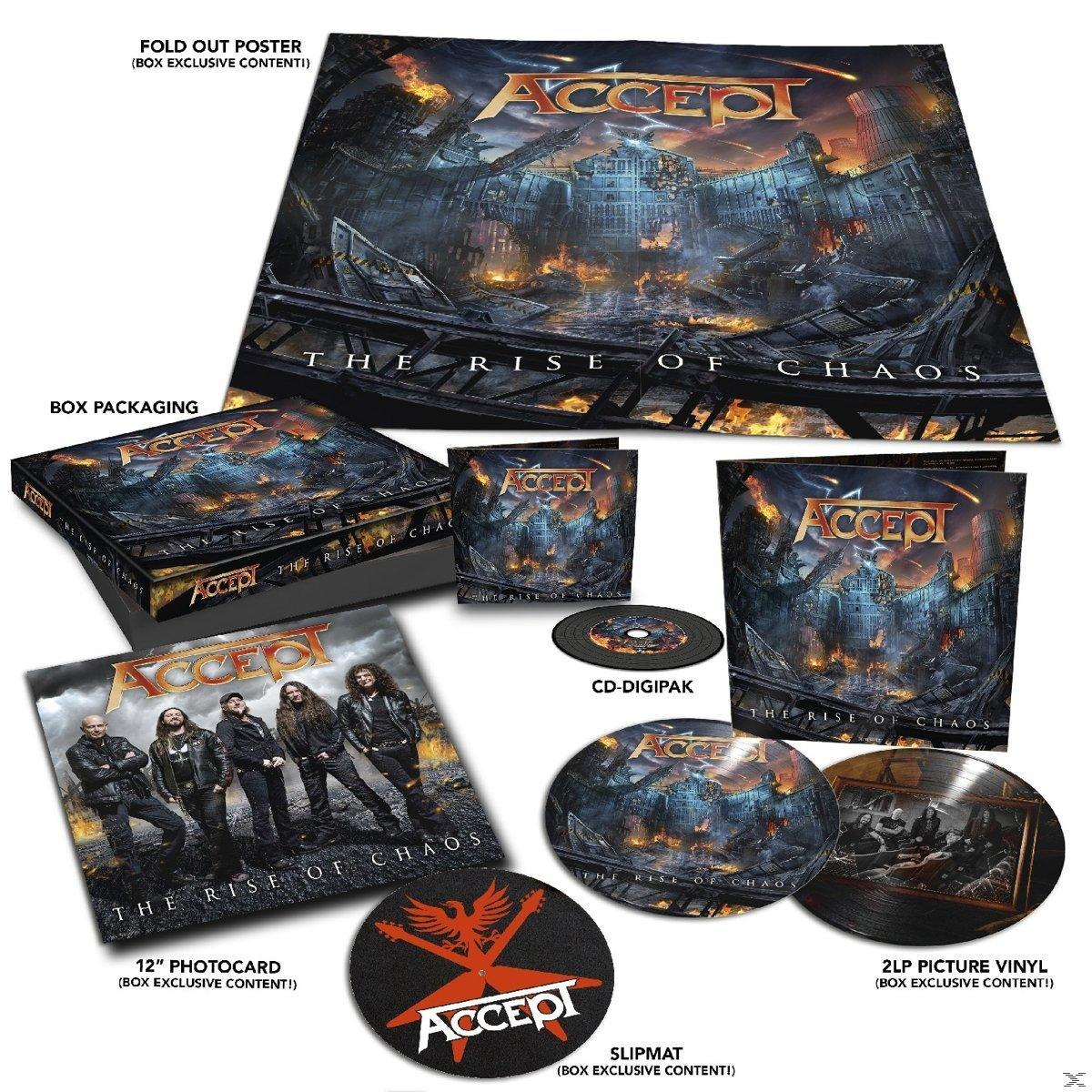 RISE OF CHAOS (2LP+CD DIGI)