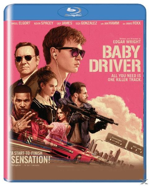 BABY DRIVER [BLU RAY]